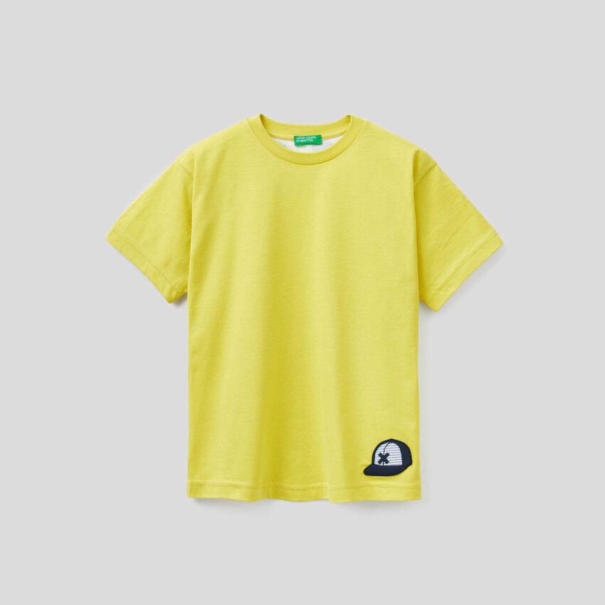 T-shirt en 100% coton avec message