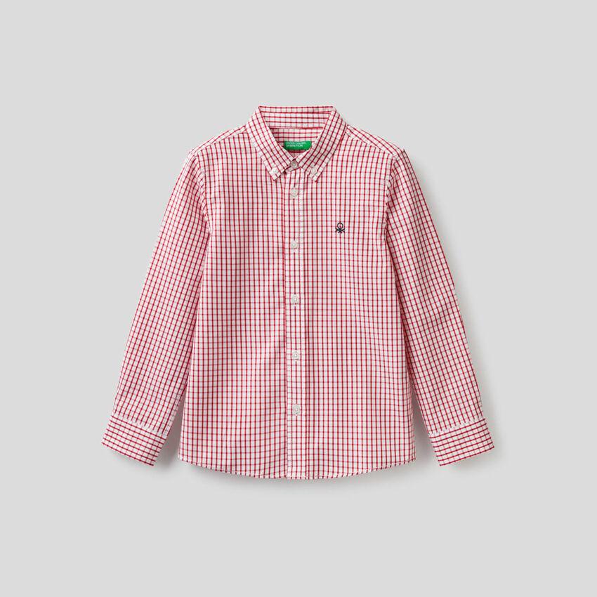 Sportliches Hemd aus 100% Baumwolle