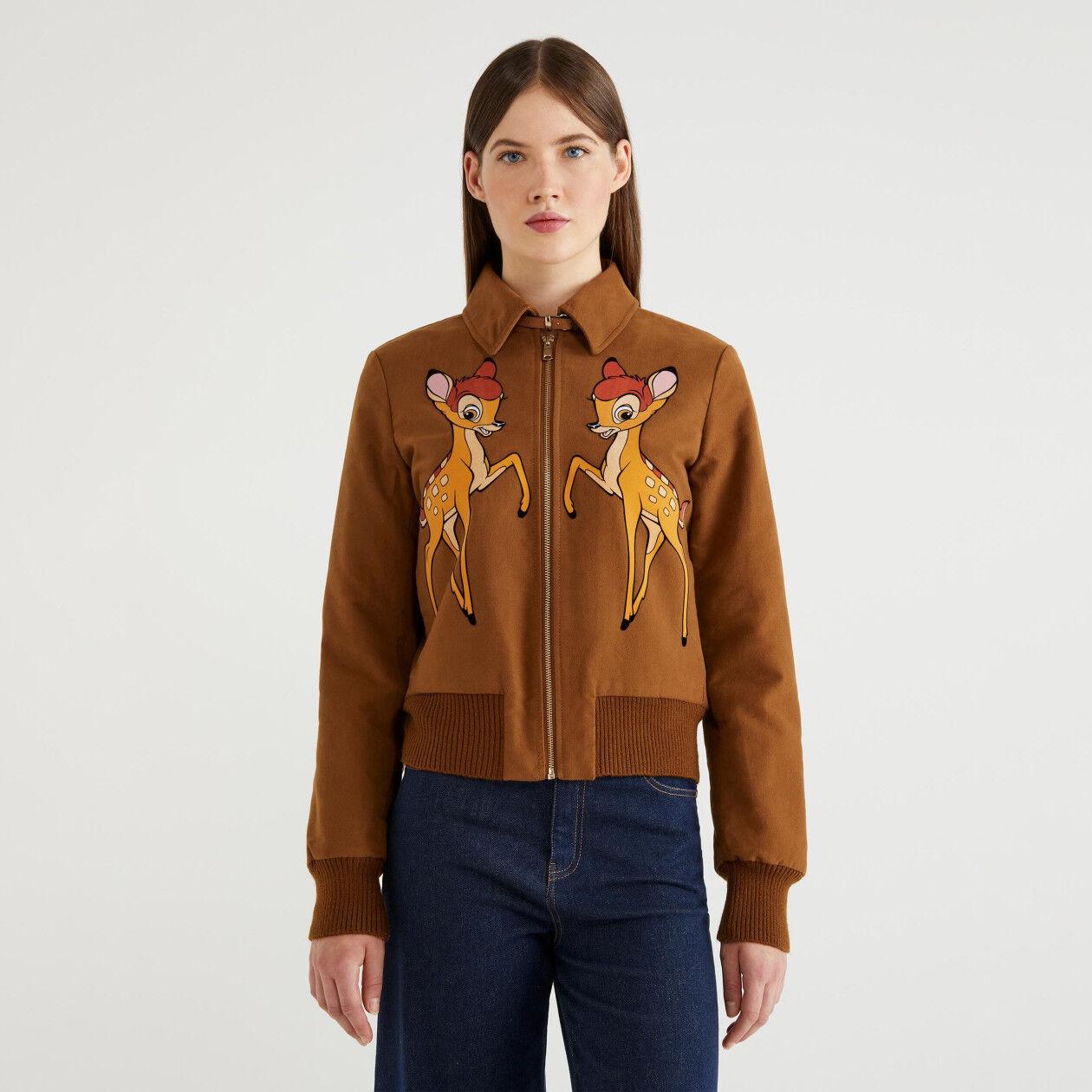 """""""Bambi"""" jacket in moleskin"""