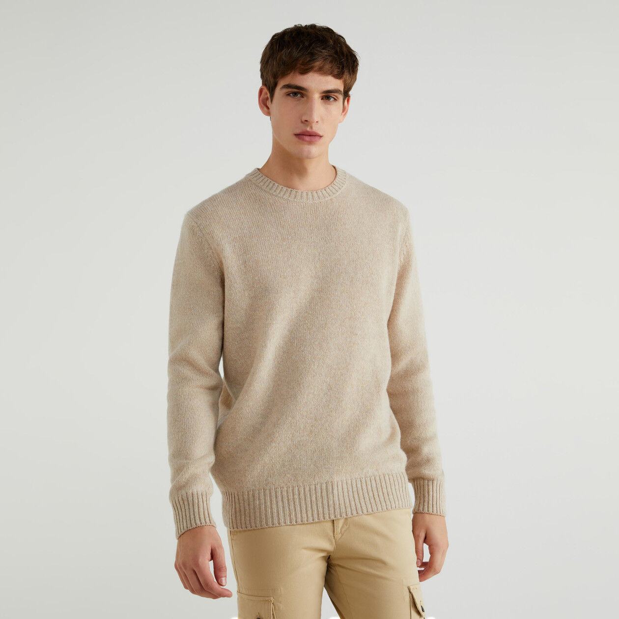 Pull en laine Shetland