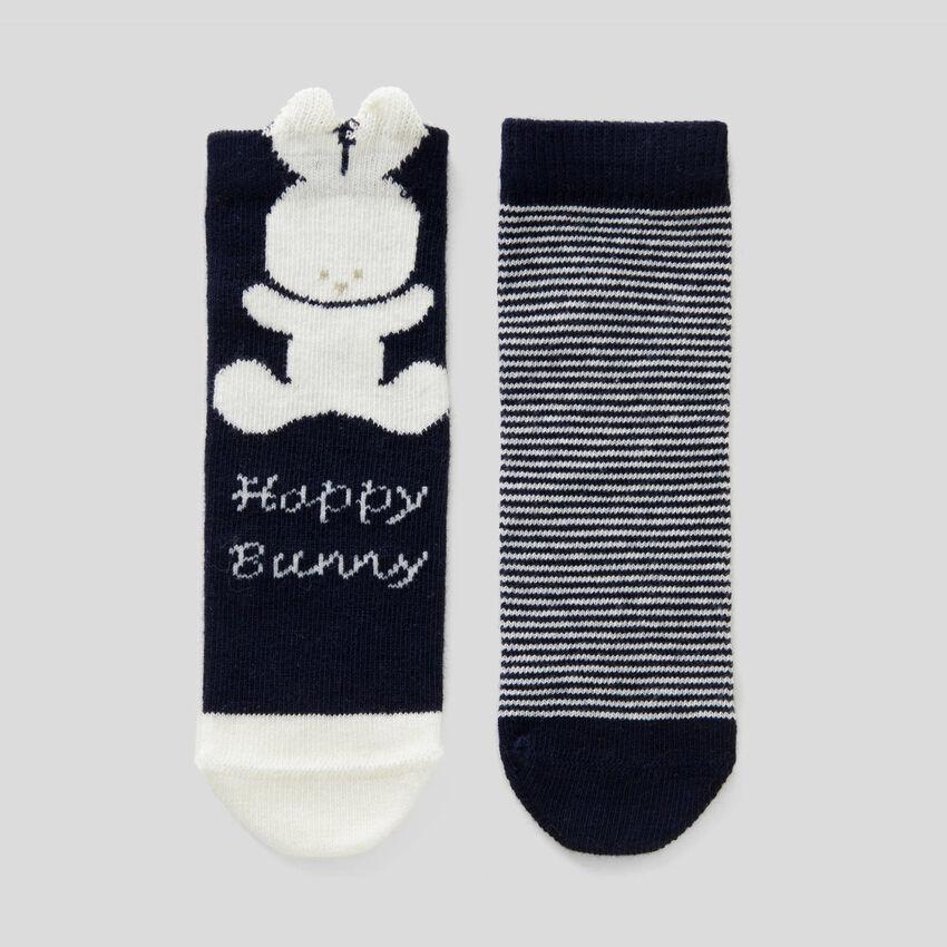 Set aus Socken in einer biologischen Baumwollmischung