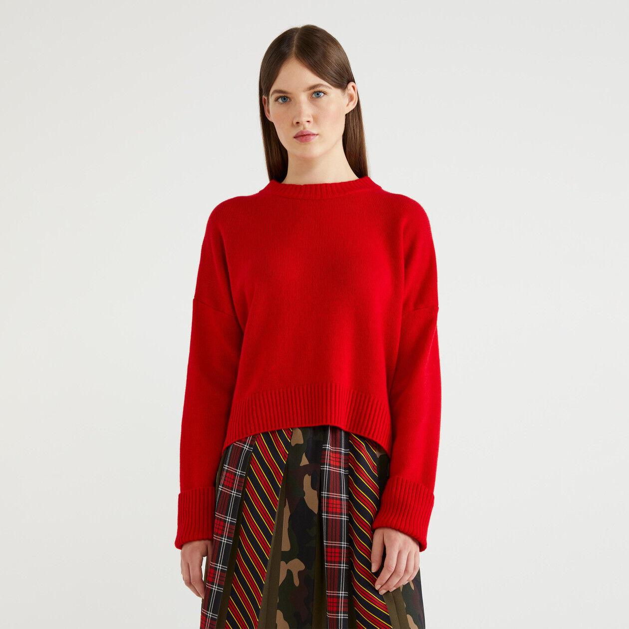 Pullover aus einer Wollmischung