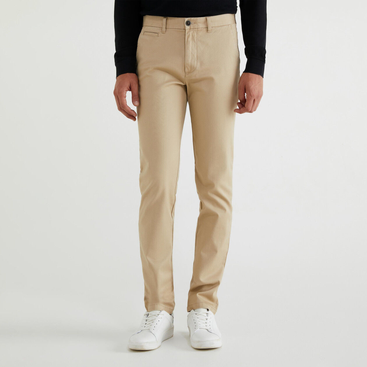 Chino in cotone slim fit