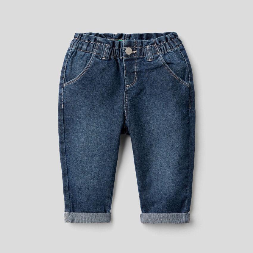 Jeans en denim stretch
