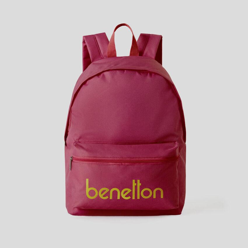 Personalisierbares rucksack mit aufgedrucktem Logo