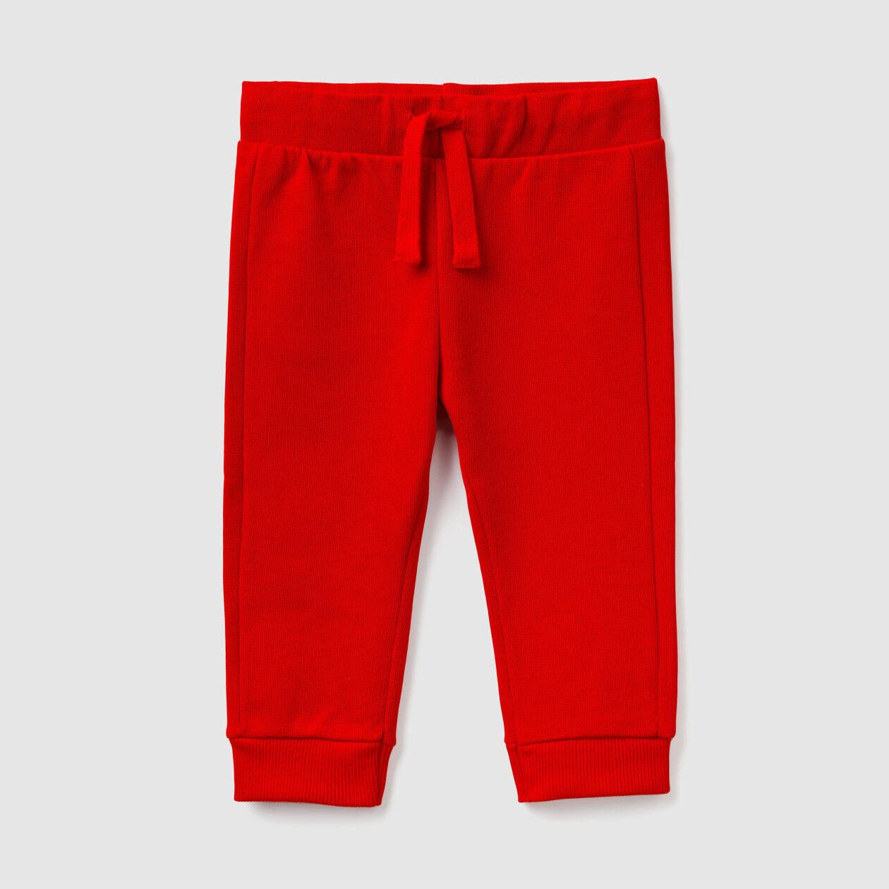 Pantalon jogger avec galon de serrage