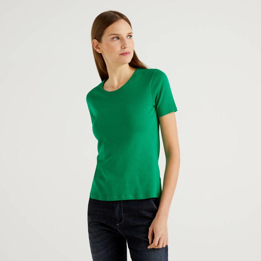 T-shirt en coton à fibres longues