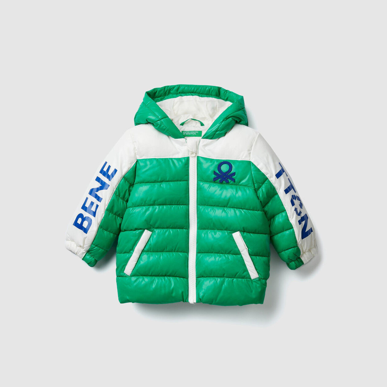 "Blouson ""Eco-Recycle"" avec logo"