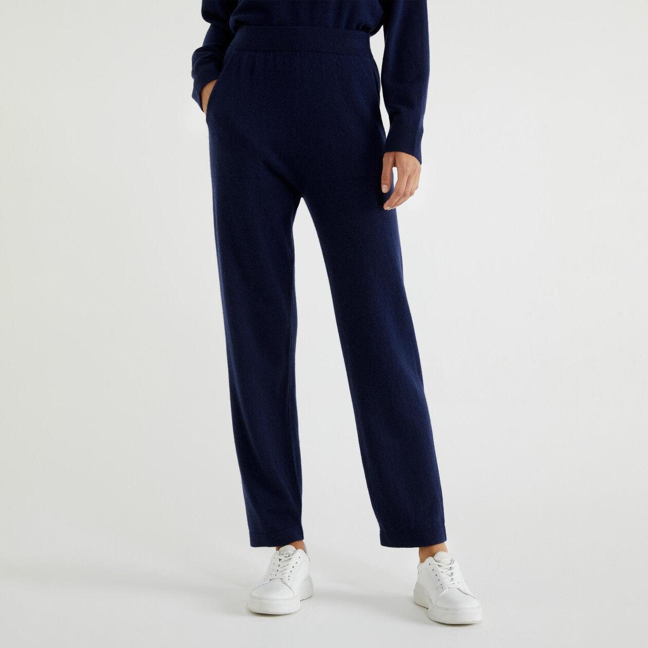 Pantalon en cachemire et laine vierge