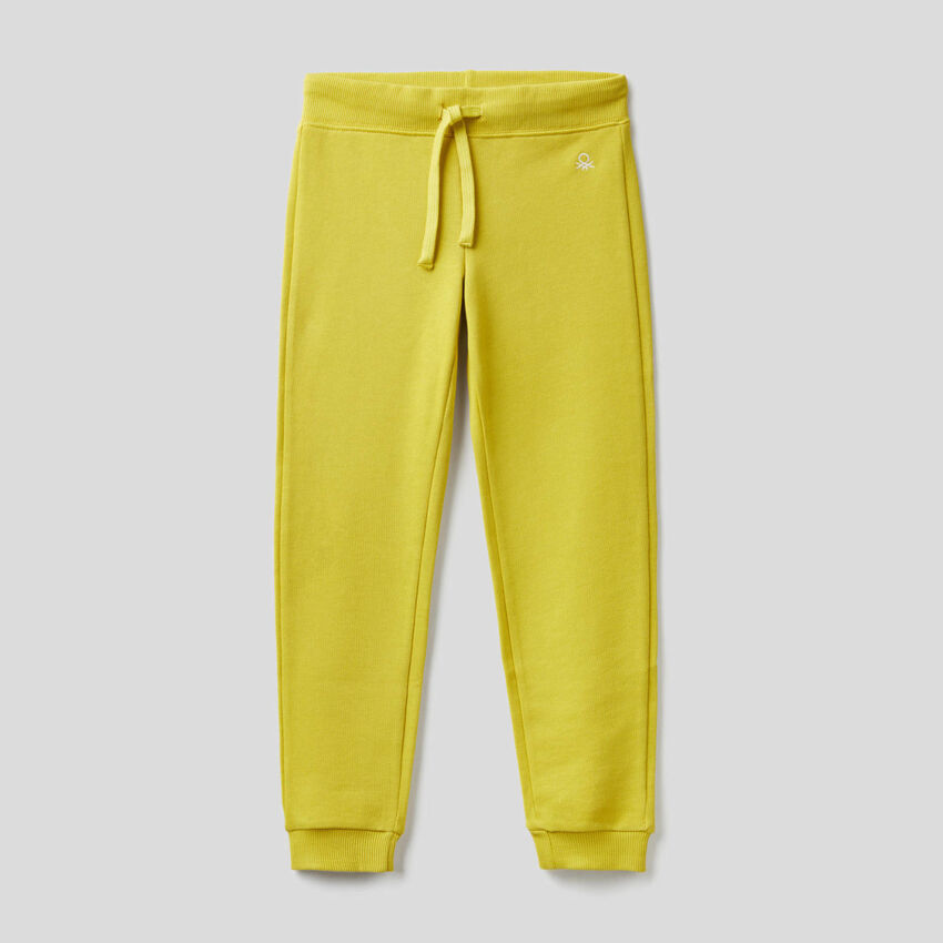 Pantaloni in felpa di 100% cotone