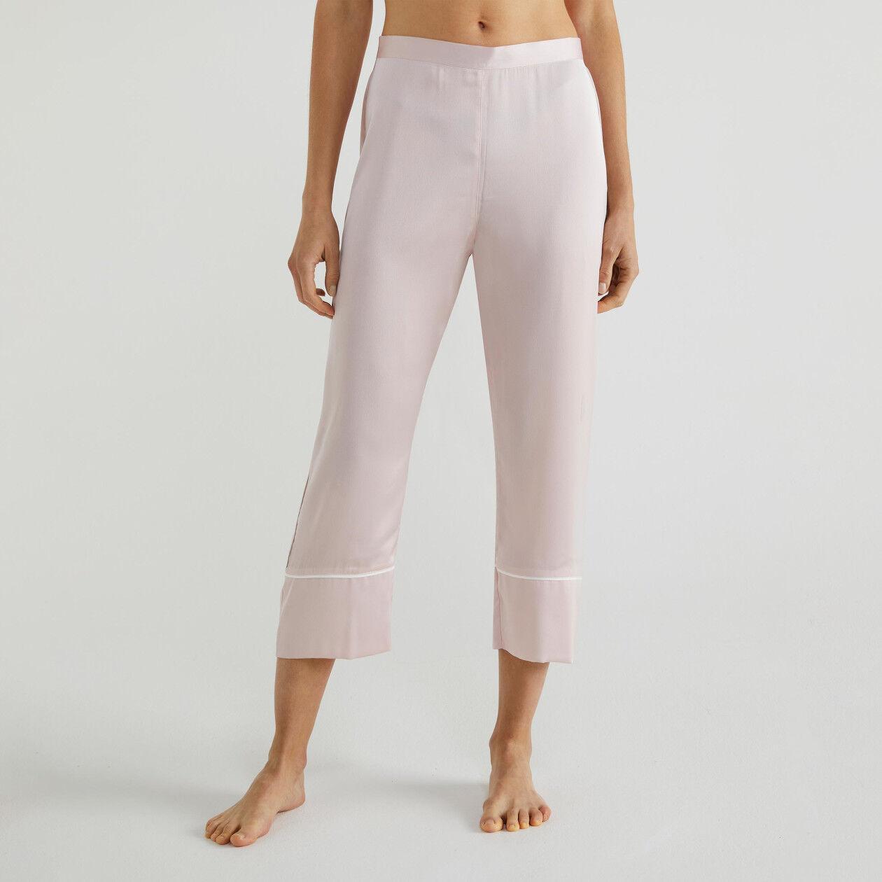 Pantalon de pyjama en satin
