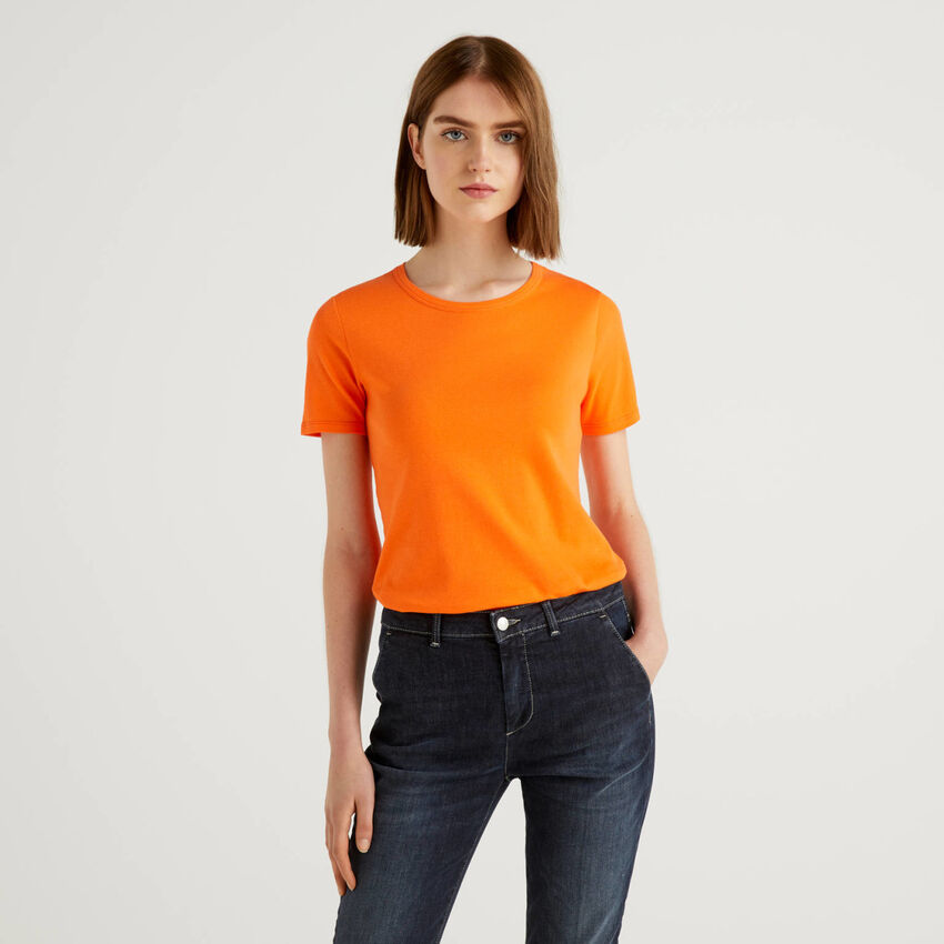 Personalisierbares T-Shirt aus langfaseriger Baumwolle