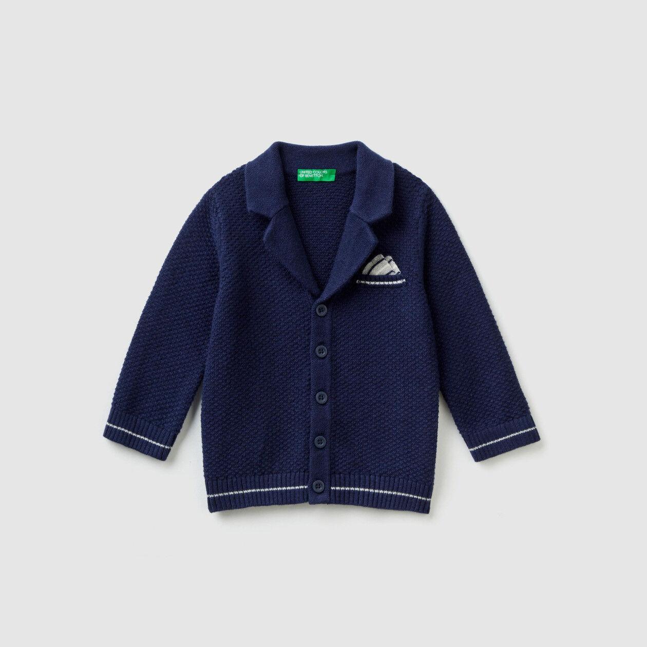 Gilet style blazer