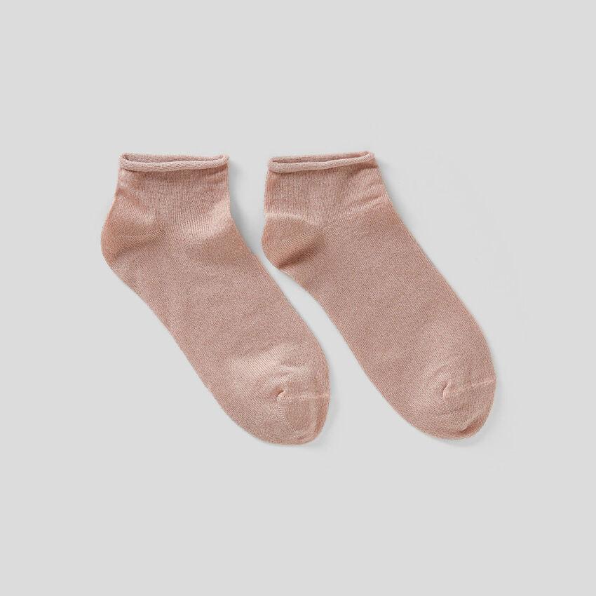 Chaussettes basses avec lurex