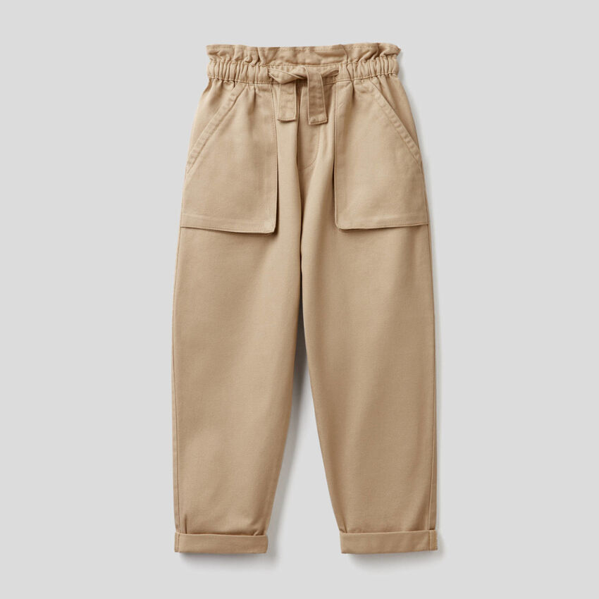 Pantalon avec maxi-poches