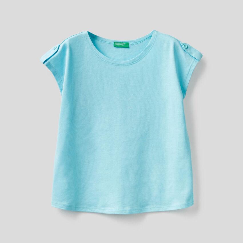 T-shirt uni 100% coton
