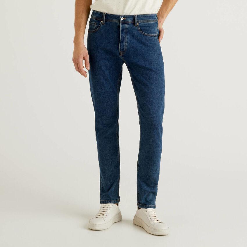 Jeans coupe slim cinq poches