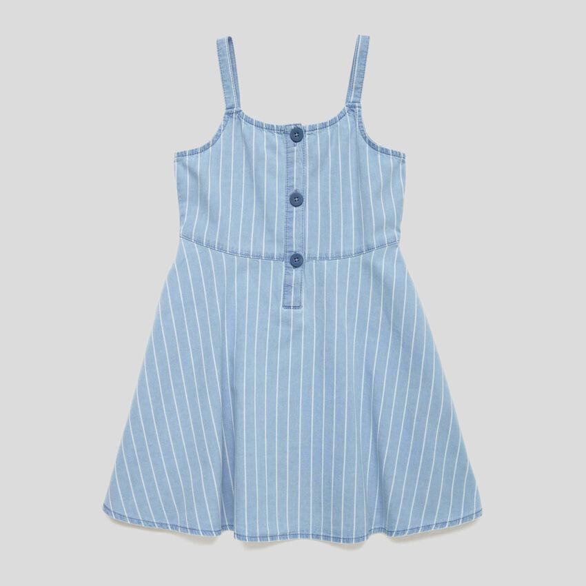 Kleid mit Streifen