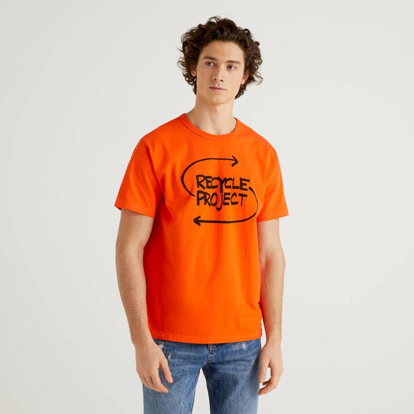 T-shirt 100% cotone biologico con stampa
