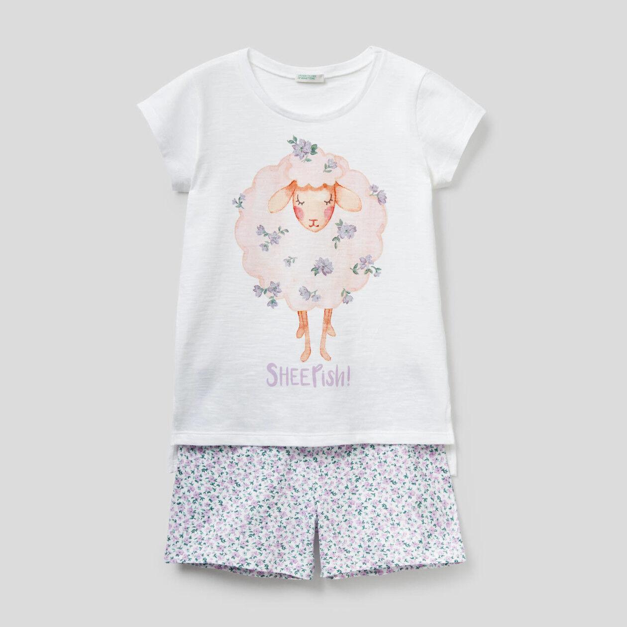100% cotton short pyjamas