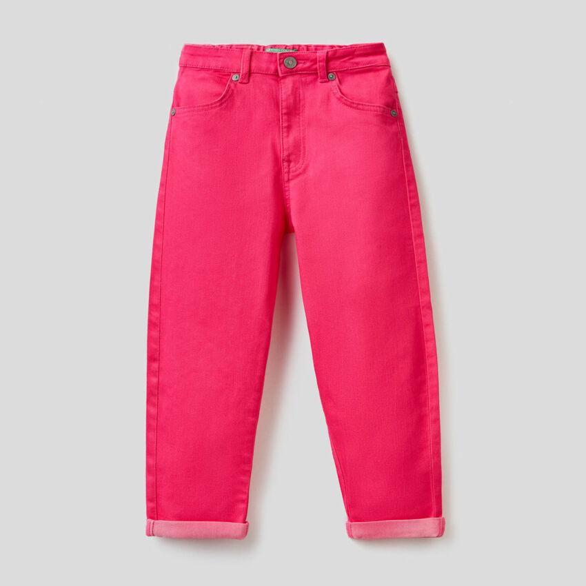 Pantaloni con vita elasticizzata