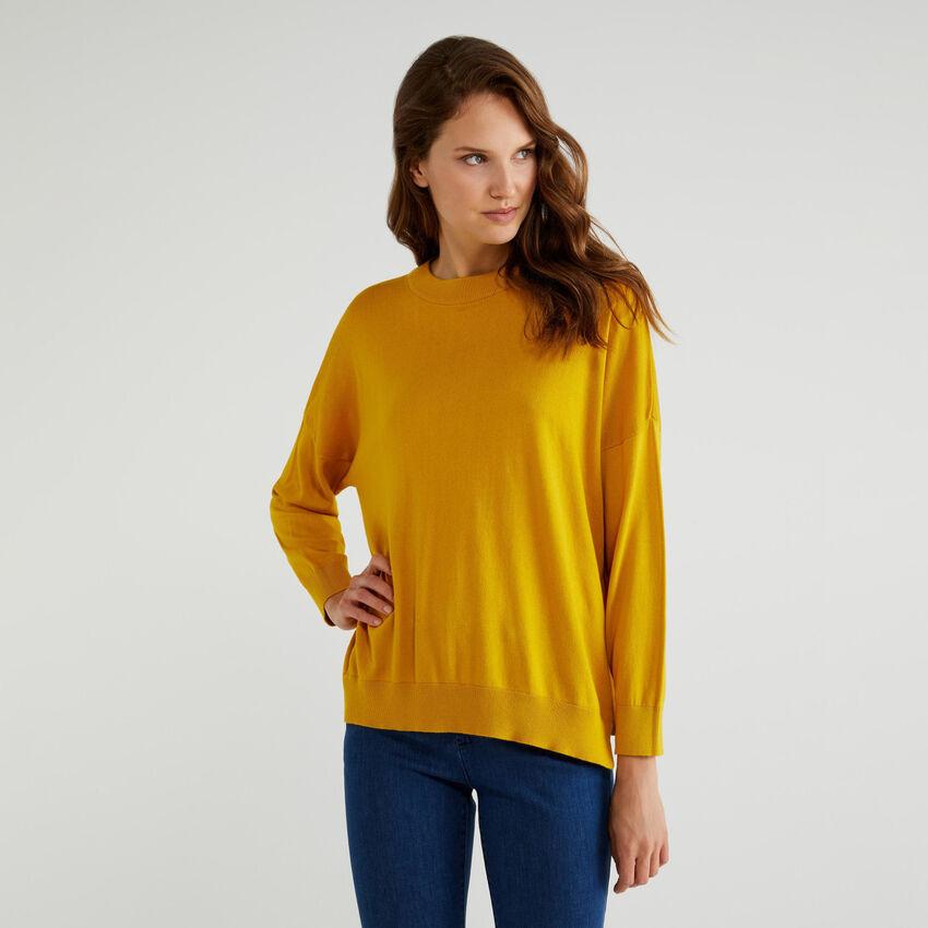 Pullover aus Baumwolle und Modal®