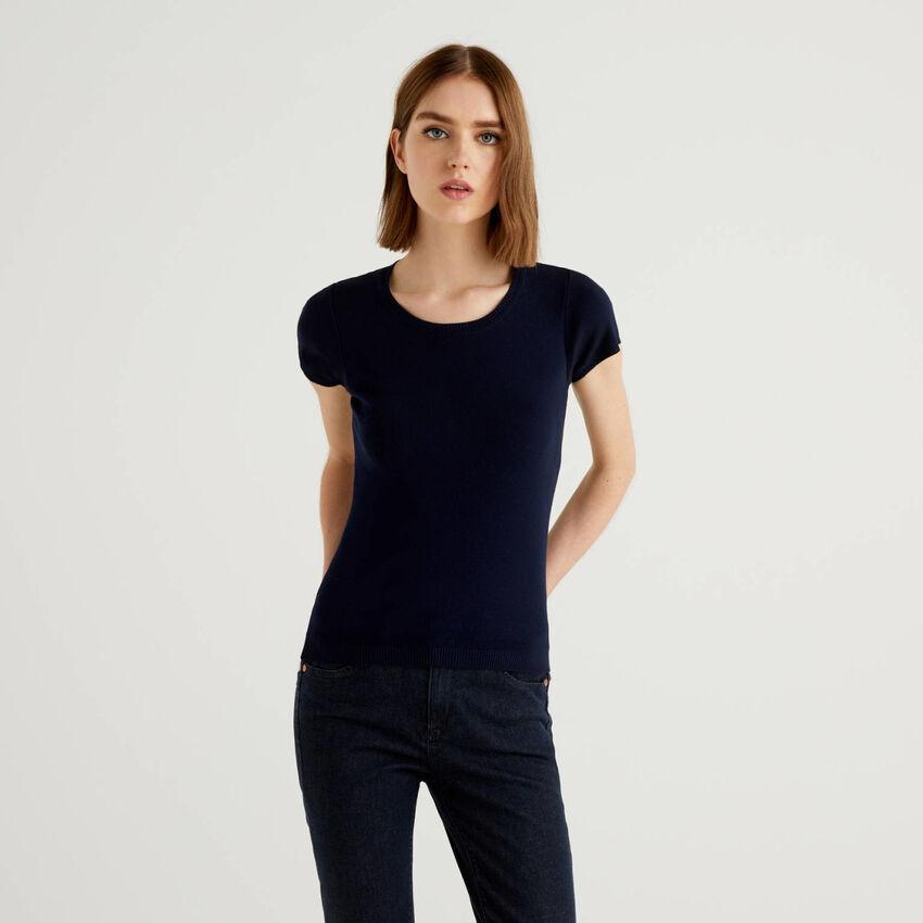 Haut à manches courtes en 100% coton