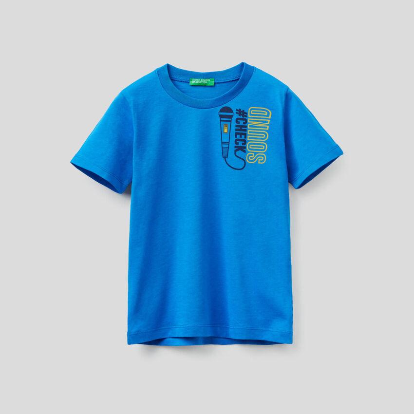 T-shirt à manches courtes en coton bio