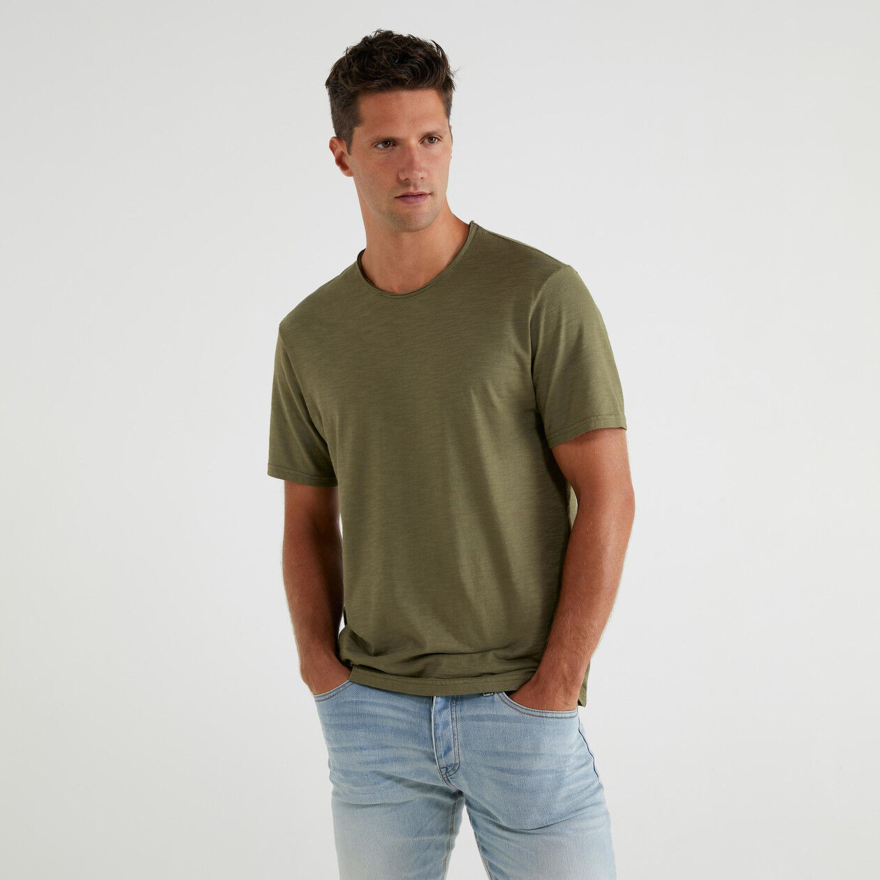T-shirt basic manica corta