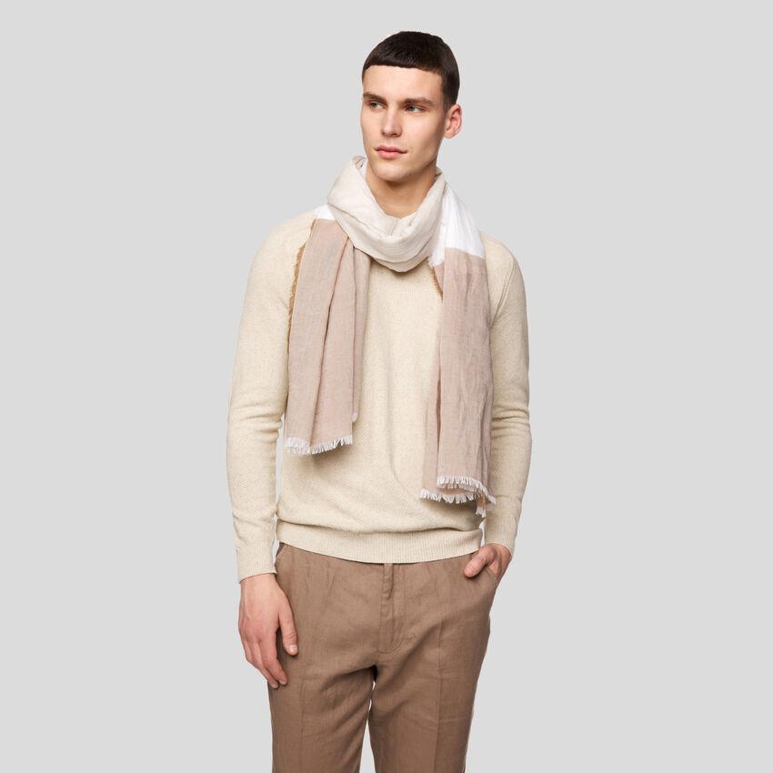 Foulard avec franges