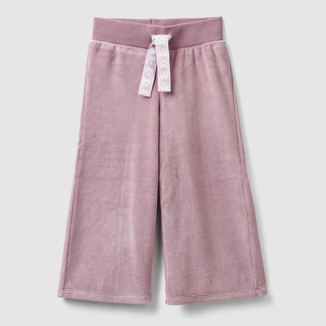 Pantalon a 3/4 en chenille