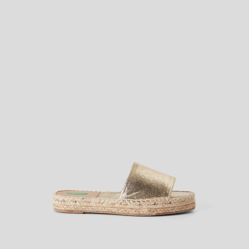 Golden slippers