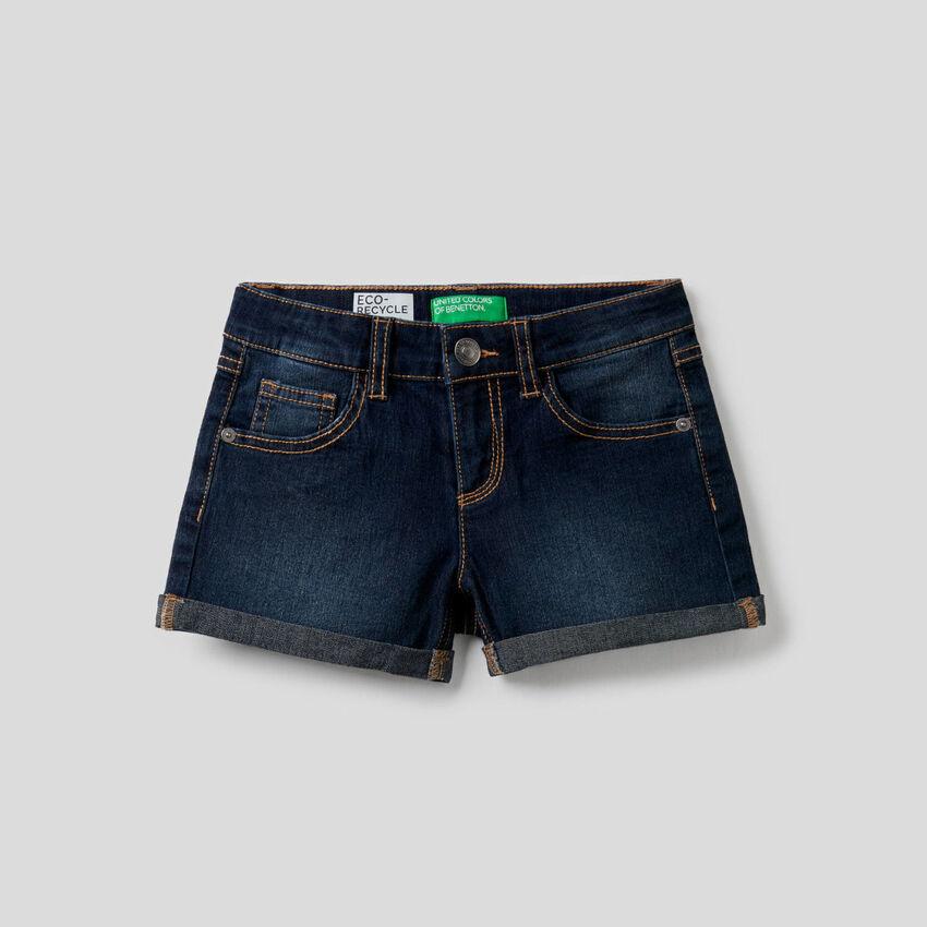 Shorts in cotone elasticizzato