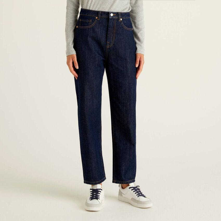 Jeans boyfriend 100% coton