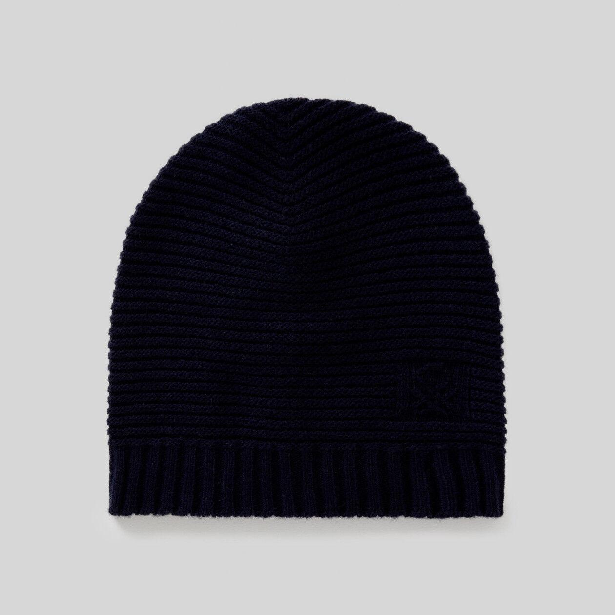 Bonnet en laine mélangée
