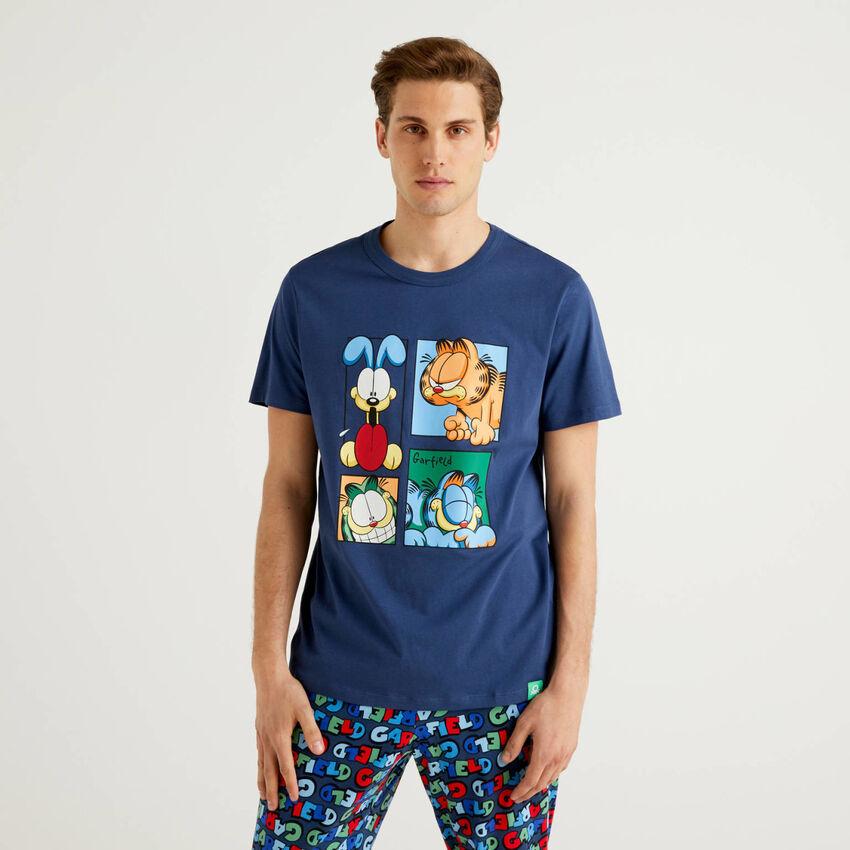 Garfield t-shirt in pure cotton