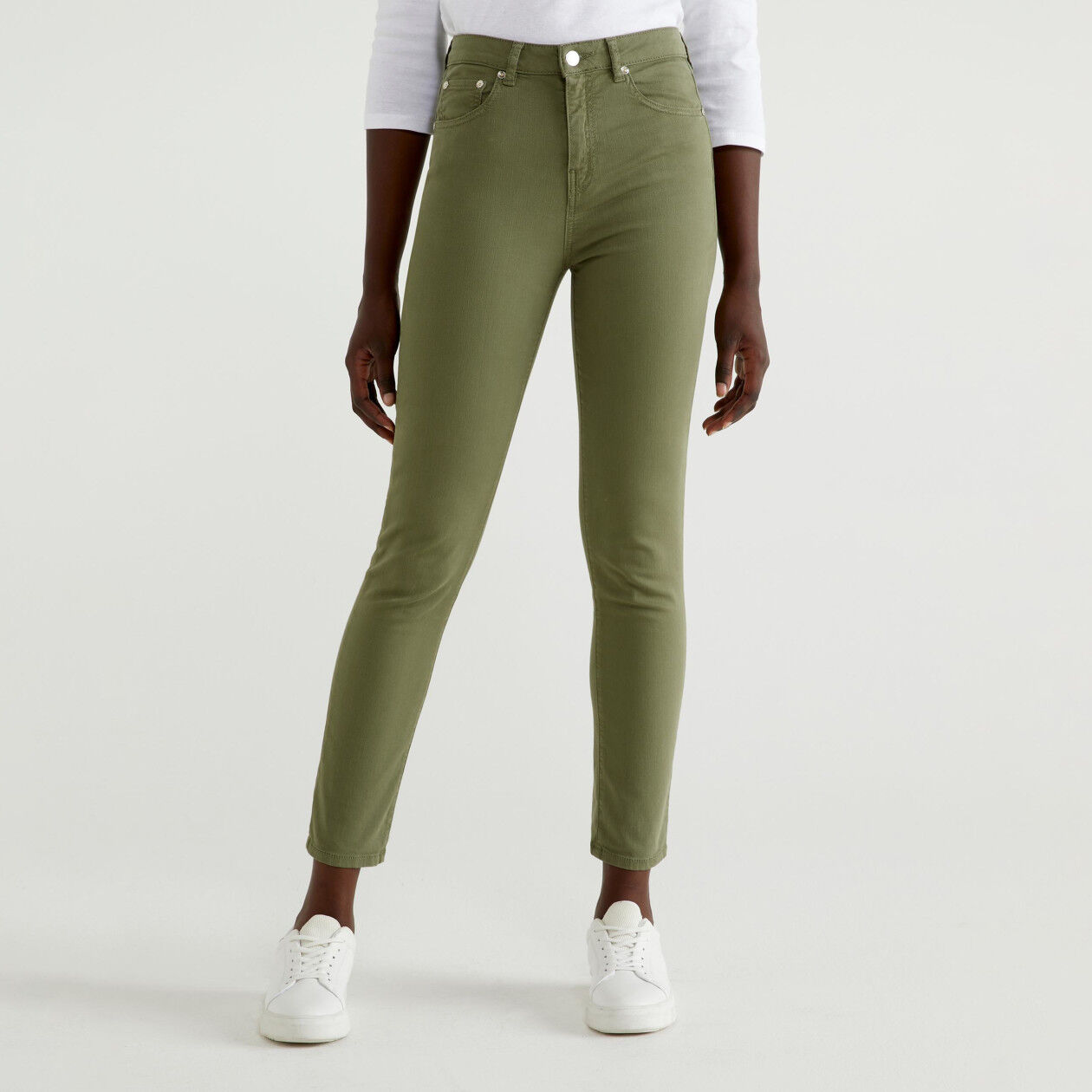 Pantalon coupe skinny