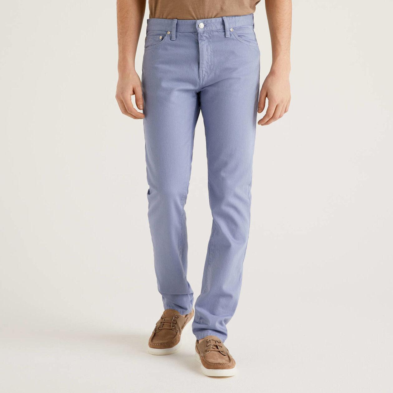 Five-Pocket-Hose aus 100% Baumwolle