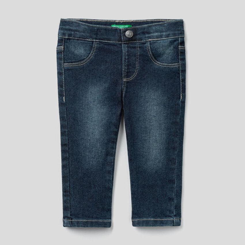 "Jeans slim fit in denim ""Eco-Recycle"""