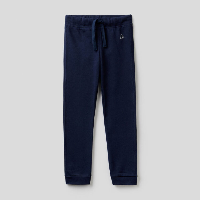 Pantaloni in felpa con logo