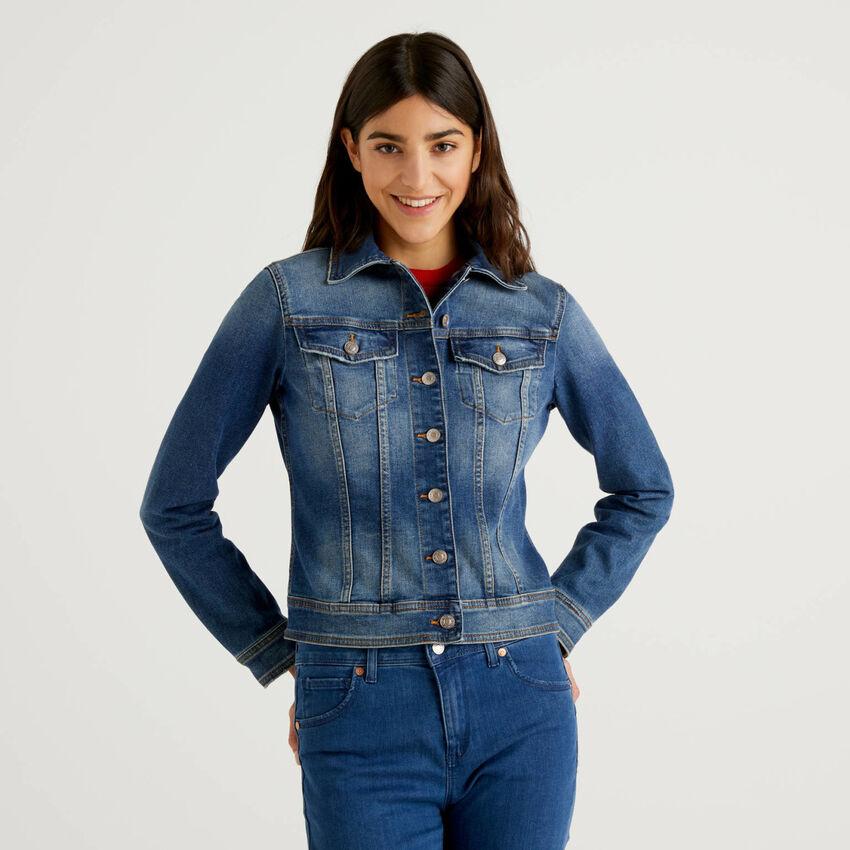 Veste cintrée en jeans