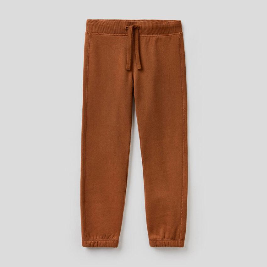 Lange Hose aus Sweatstoff