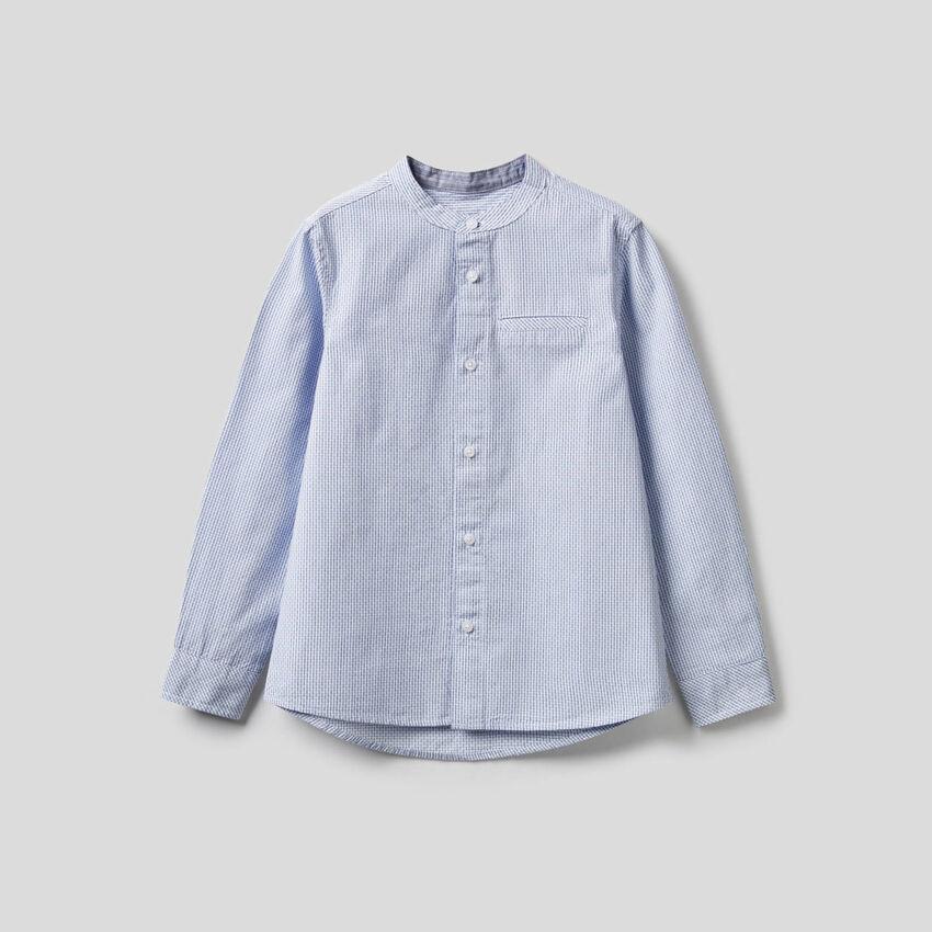 Koreanisches Hemd aus 100% Baumwolle