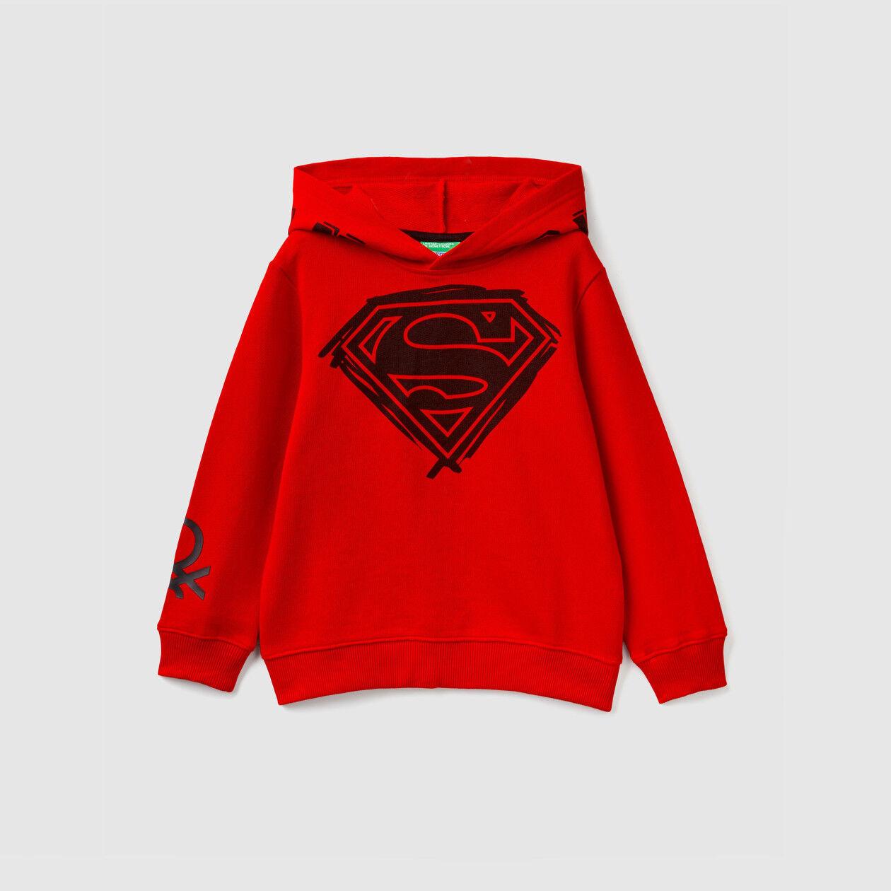 Superhelden-Sweatshirt mit Kapuze
