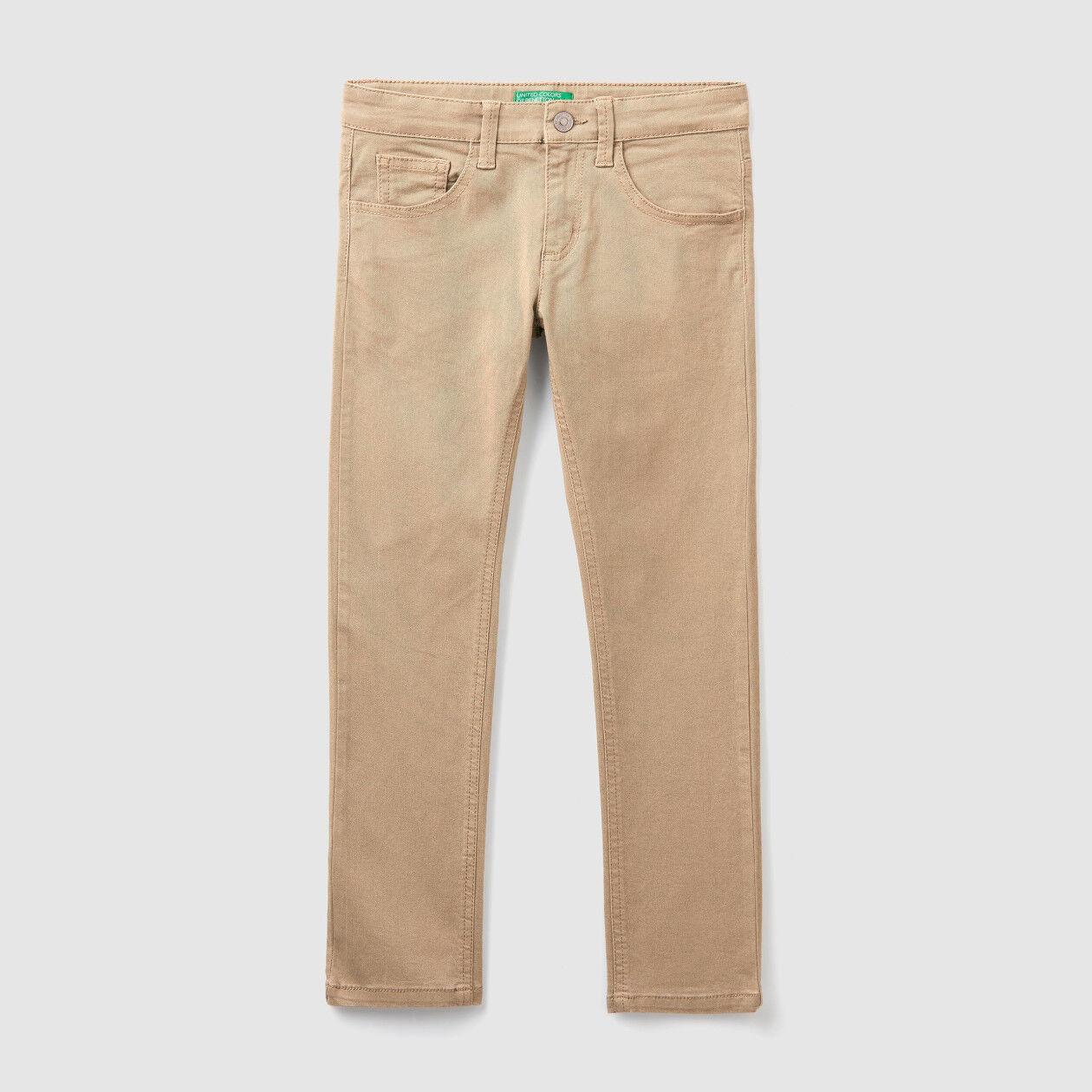 Five-Pocket-Jeans mit Slim Fit