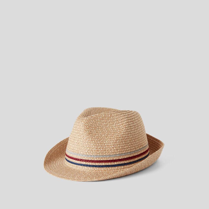 Cappello effetto paglia