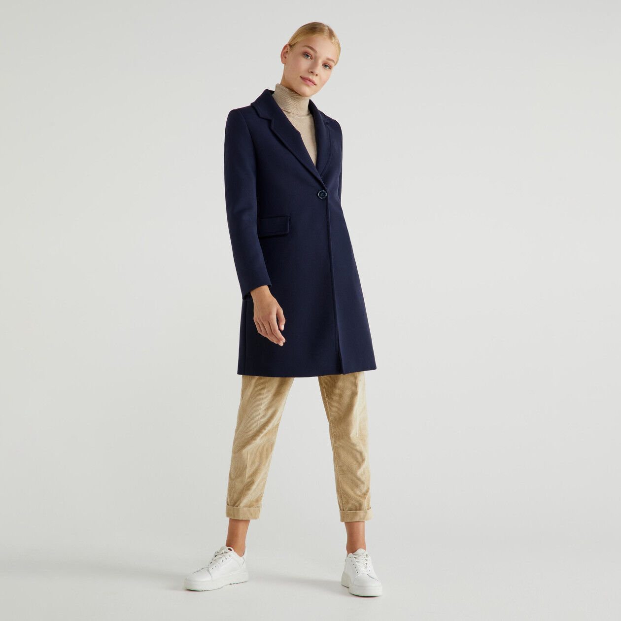 Manteau doublé