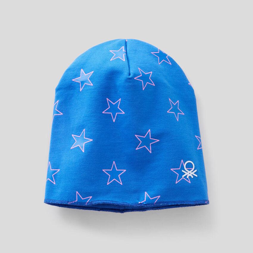 Cappellino reversibile 100% cotone