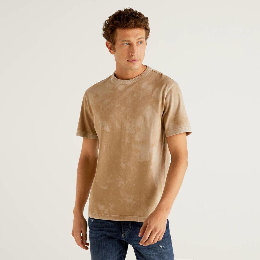 T-shirt tie-dye 100% coton