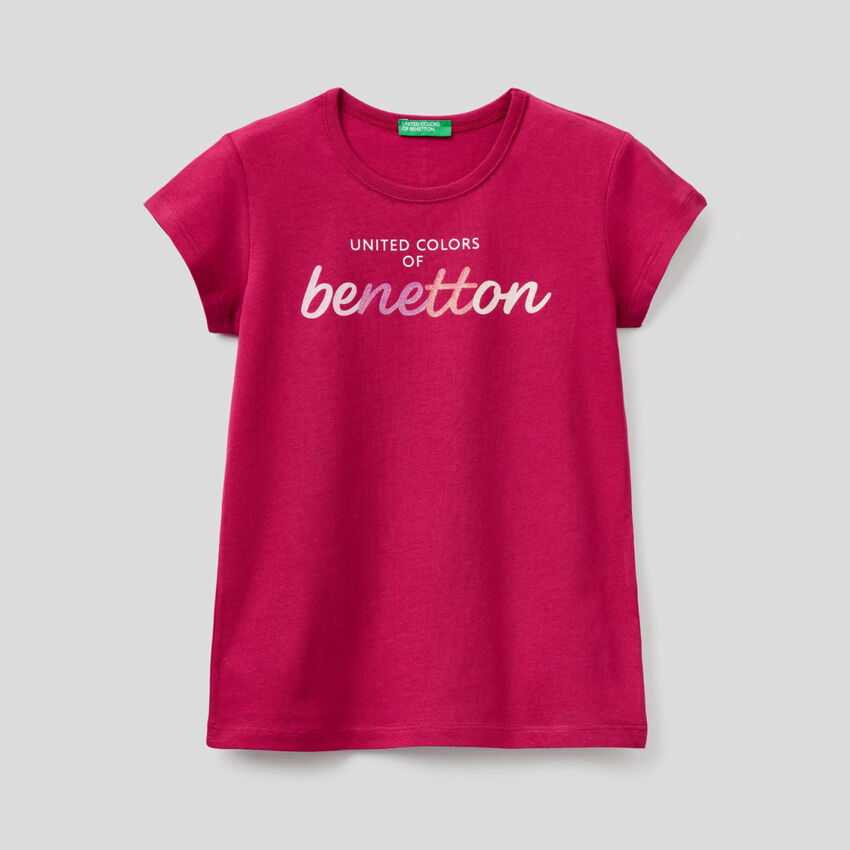 T-shirt 100% cotone biologico